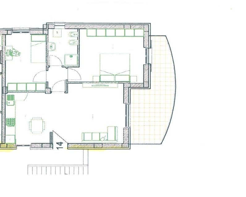 Appartamento in vendita a Osimo, 3 locali, zona Zona: Abbadia, prezzo € 180.000 | CambioCasa.it