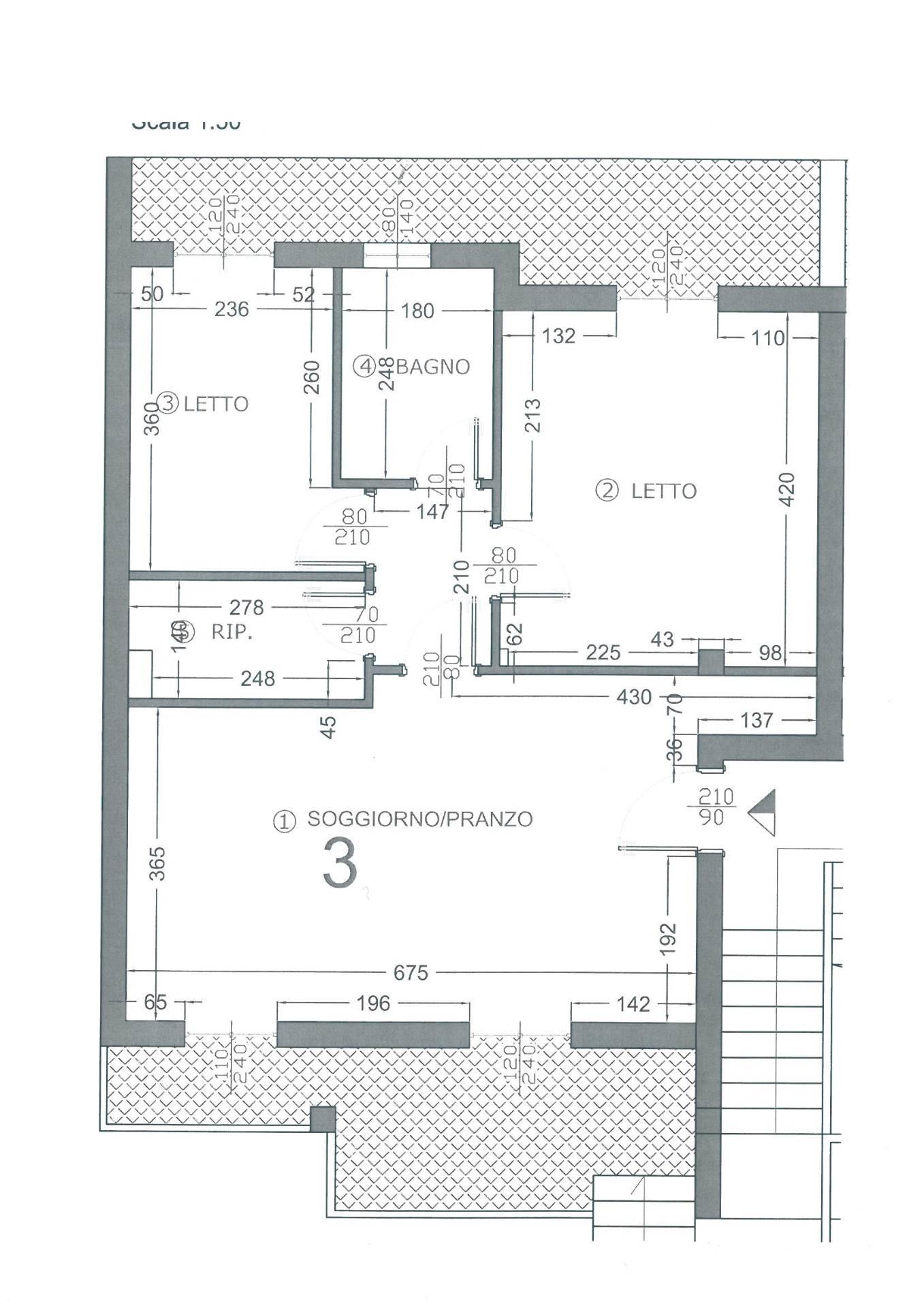 Appartamento in vendita a Osimo, 4 locali, zona Località: OsimoStazione, prezzo € 175.000 | CambioCasa.it