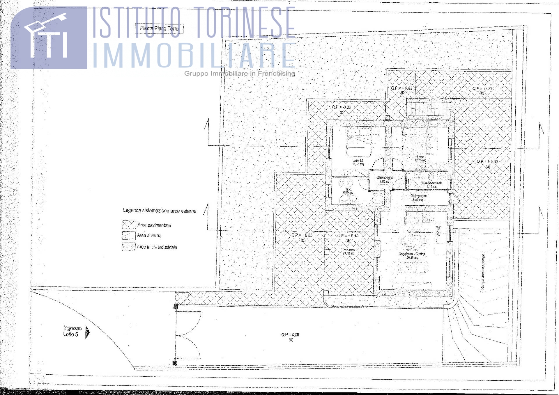 benevento vendita quart: contrade istituto torinese immobiliare