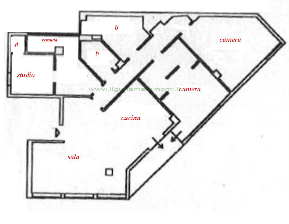 Appartamento in vendita a Savona, 5 locali, zona Zona: Centro, prezzo € 350.000 | Cambio Casa.it