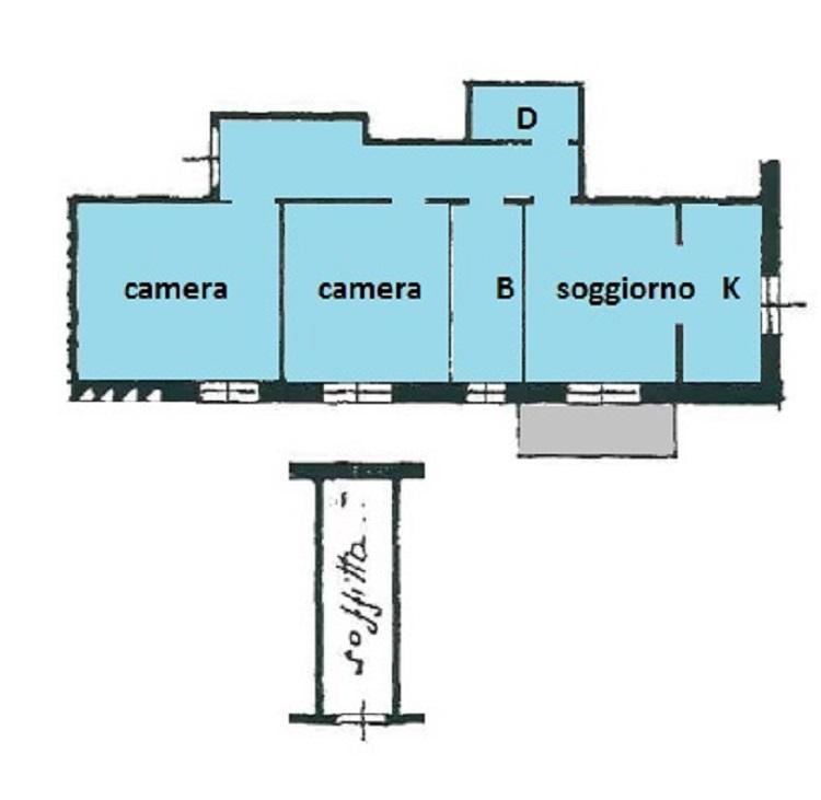 Appartamento in vendita a Savona, 3 locali, zona Zona: Lavagnola, prezzo € 100.000 | CambioCasa.it