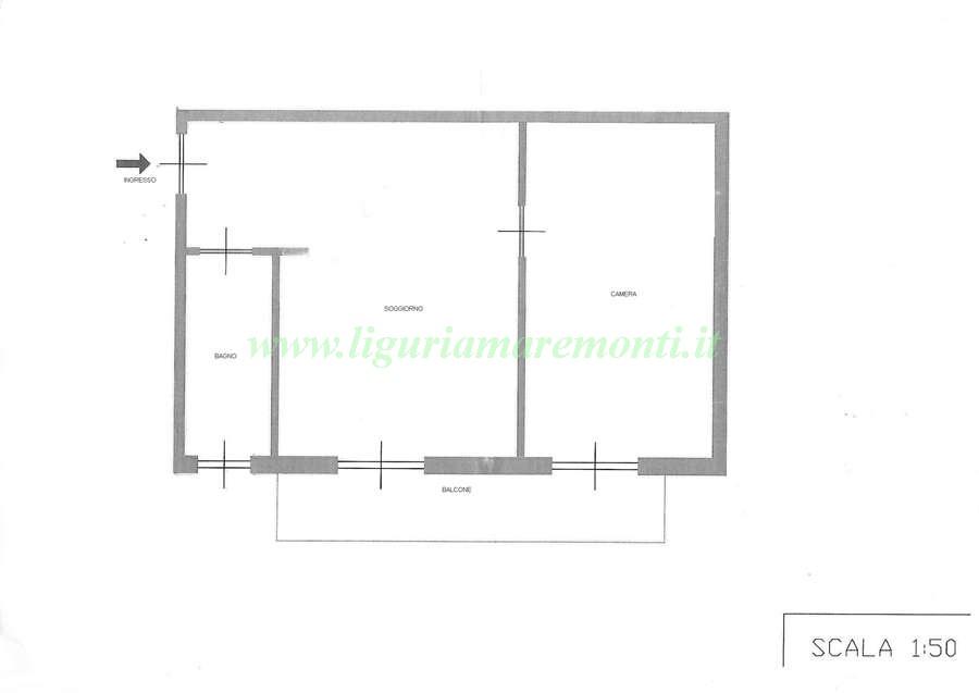 Appartamento in vendita a Calizzano, 2 locali, prezzo € 50.000 | CambioCasa.it