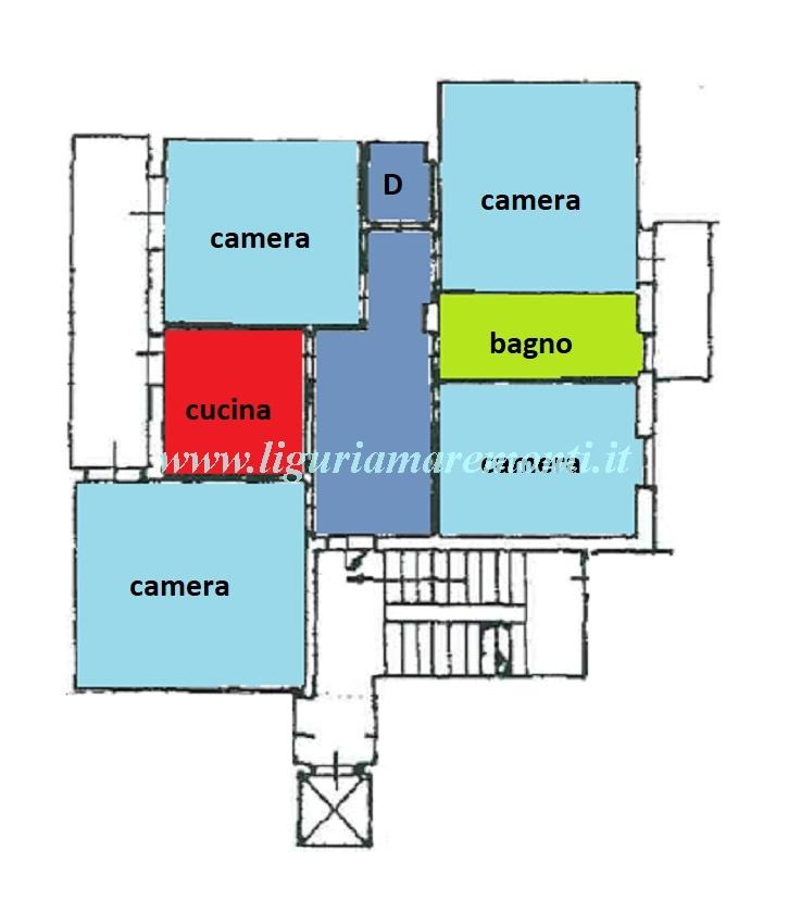 Appartamento in vendita a Savona, 5 locali, zona Zona: Villetta, prezzo € 205.000 | CambioCasa.it