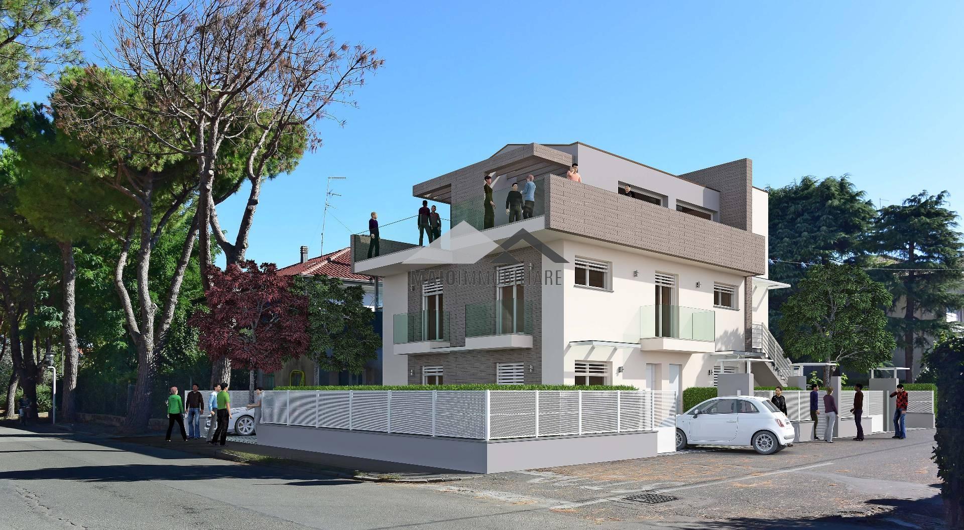 Appartamento in vendita a Riccione, 3 locali, zona Località: TERME, prezzo € 330.000   Cambio Casa.it