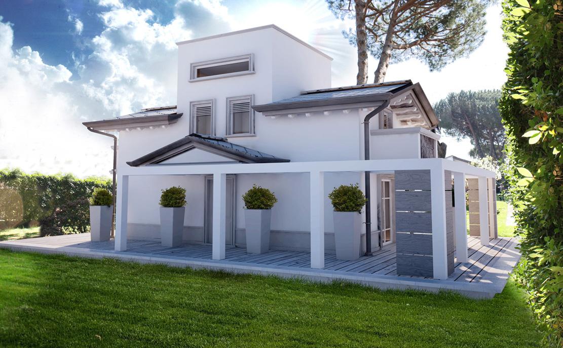 Villa in vendita a Montignoso, 7 locali, zona Zona: Cinquale, prezzo € 820.000   Cambio Casa.it