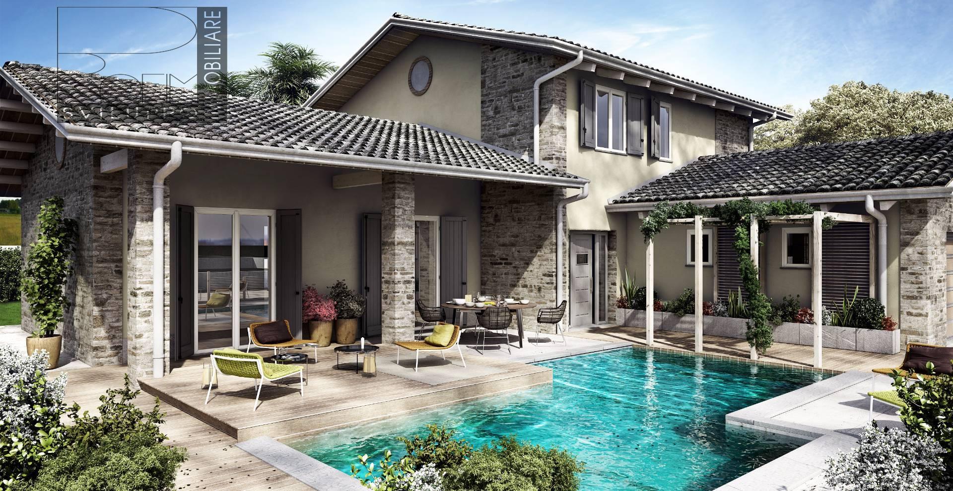 Villa in vendita a Spino d'Adda, 4 locali, prezzo € 565.000 | Cambio Casa.it