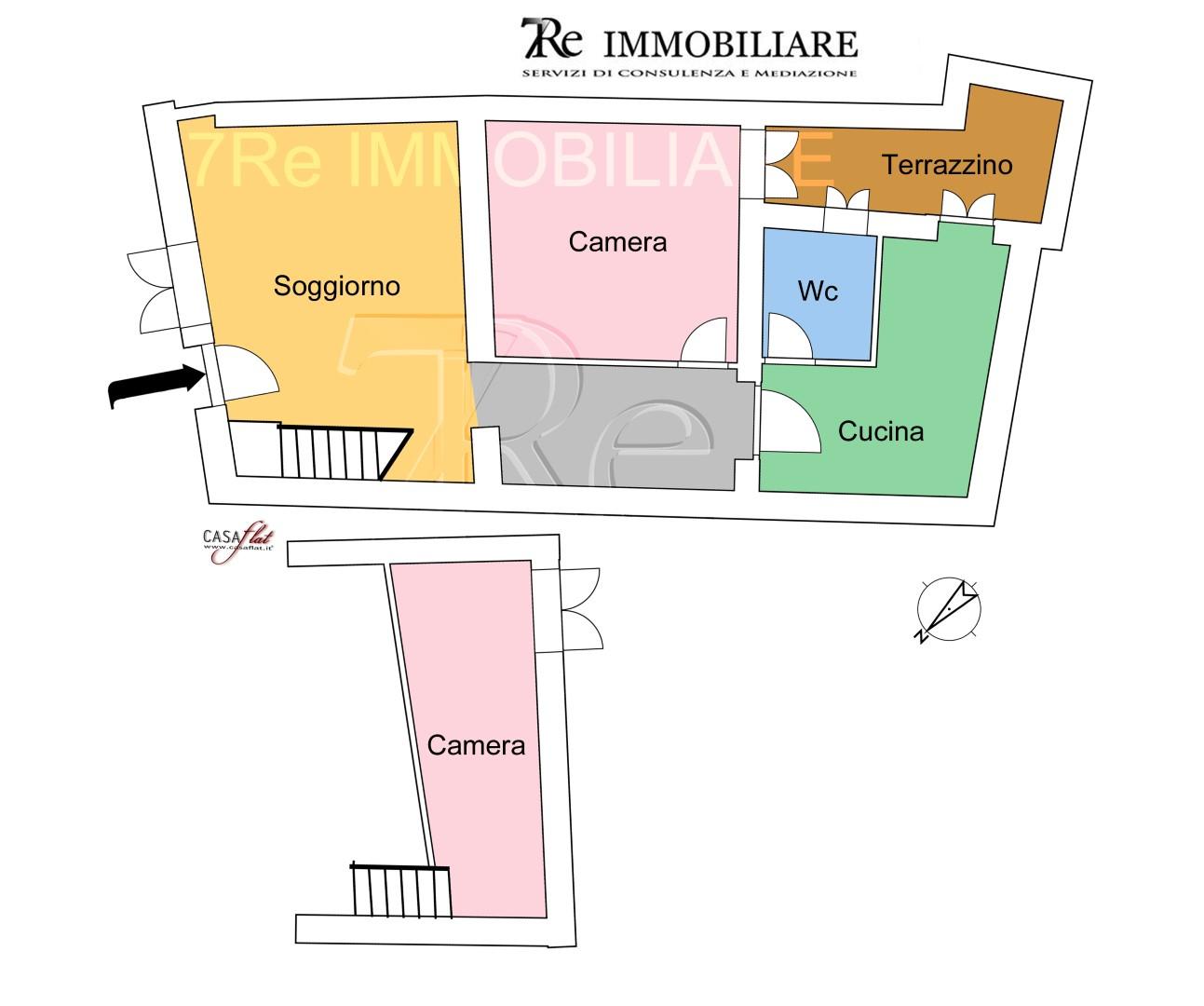 Soluzione Indipendente in affitto a Palermo, 3 locali, zona Località: SanLorenzo, prezzo € 500   CambioCasa.it