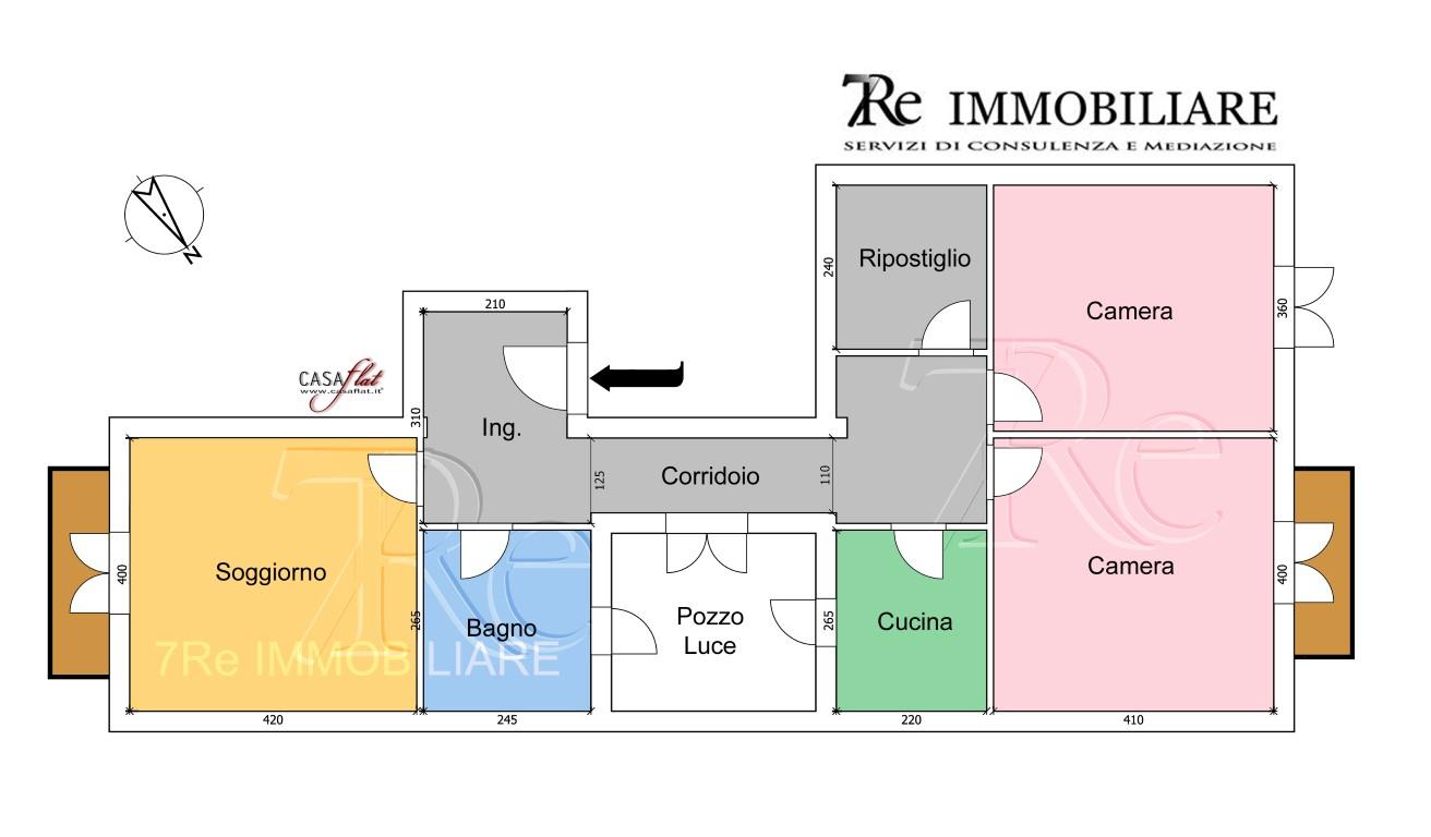 Appartamento in affitto a Palermo, 3 locali, zona Località: Fiera, prezzo € 530 | CambioCasa.it