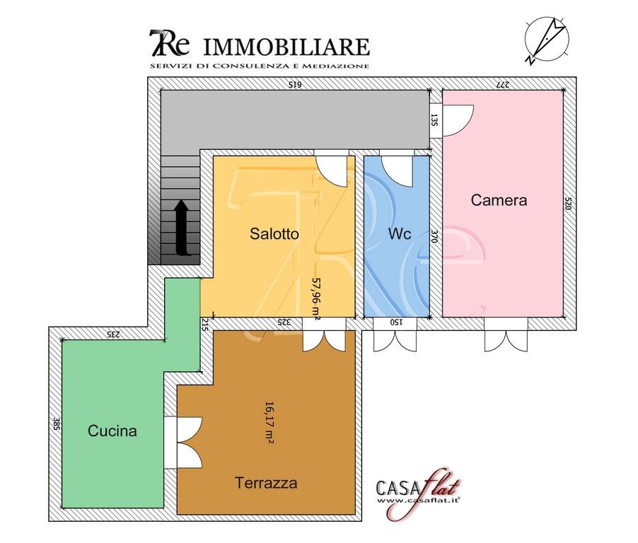 Appartamento in affitto a Palermo, 2 locali, zona Zona: Politeama, prezzo € 500 | CambioCasa.it