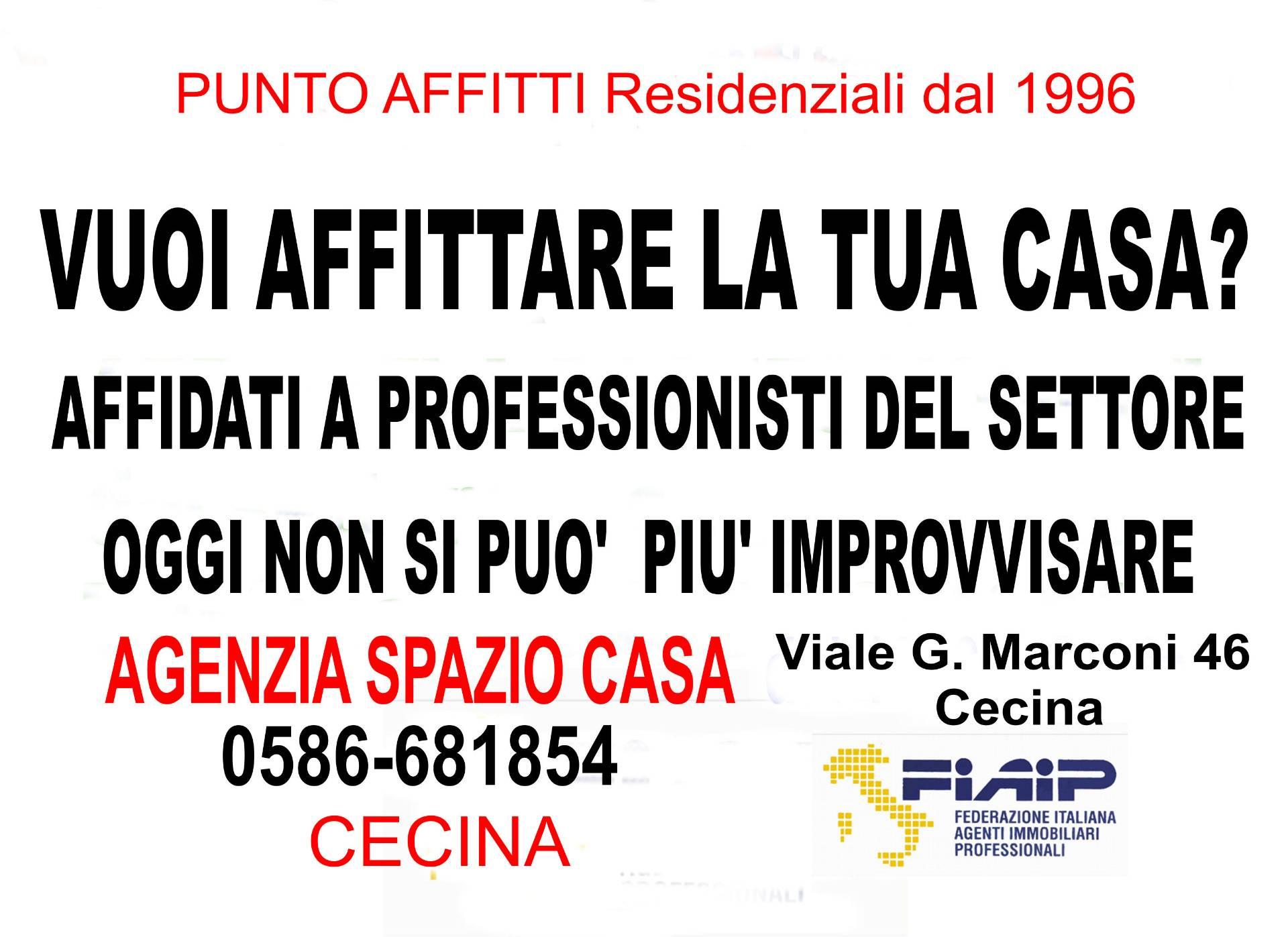 Appartamento in affitto a Cecina, 1 locali, prezzo € 1 | CambioCasa.it