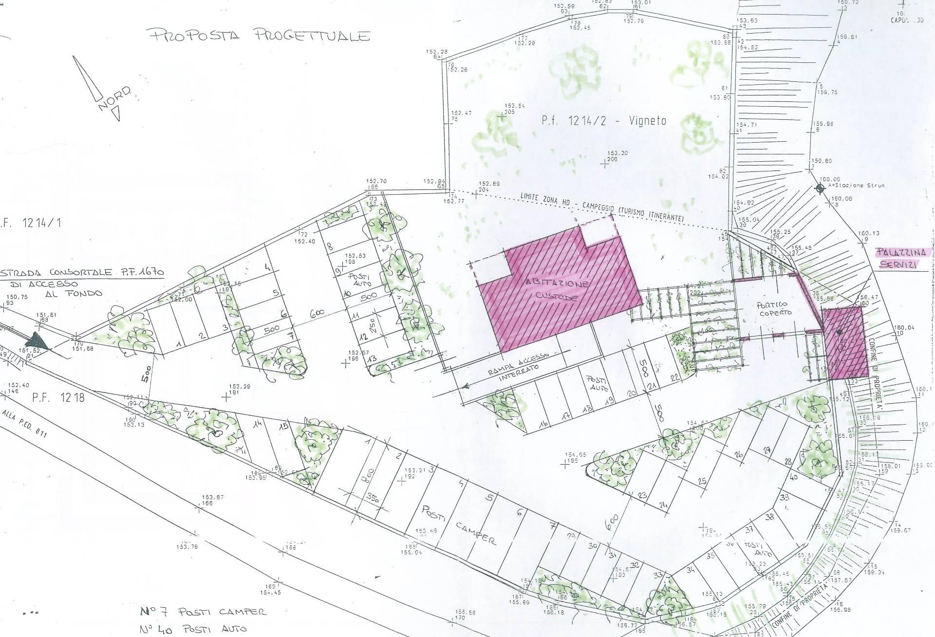 Terreno Edificabile Residenziale in vendita a Nago-Torbole, 9999 locali, zona Zona: Nago, prezzo € 215.000   CambioCasa.it