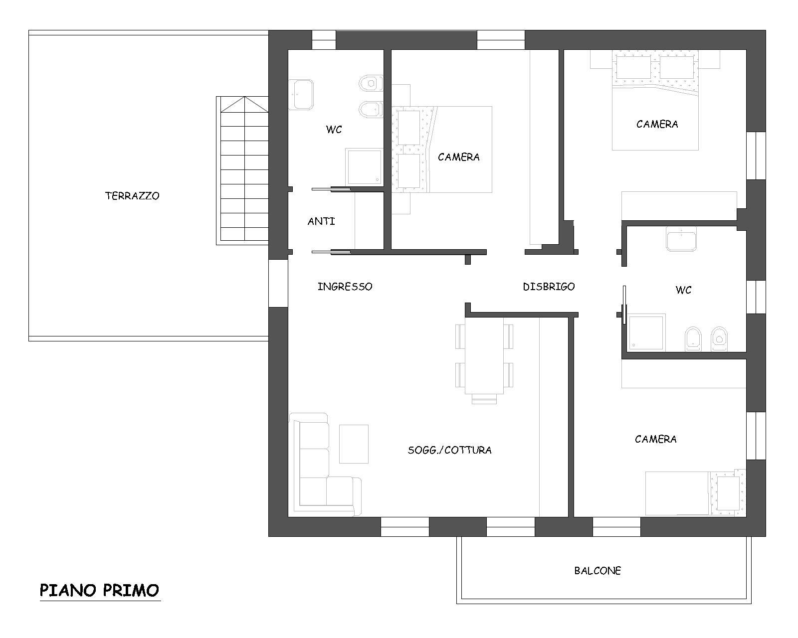 Appartamento in Vendita a Nogaredo
