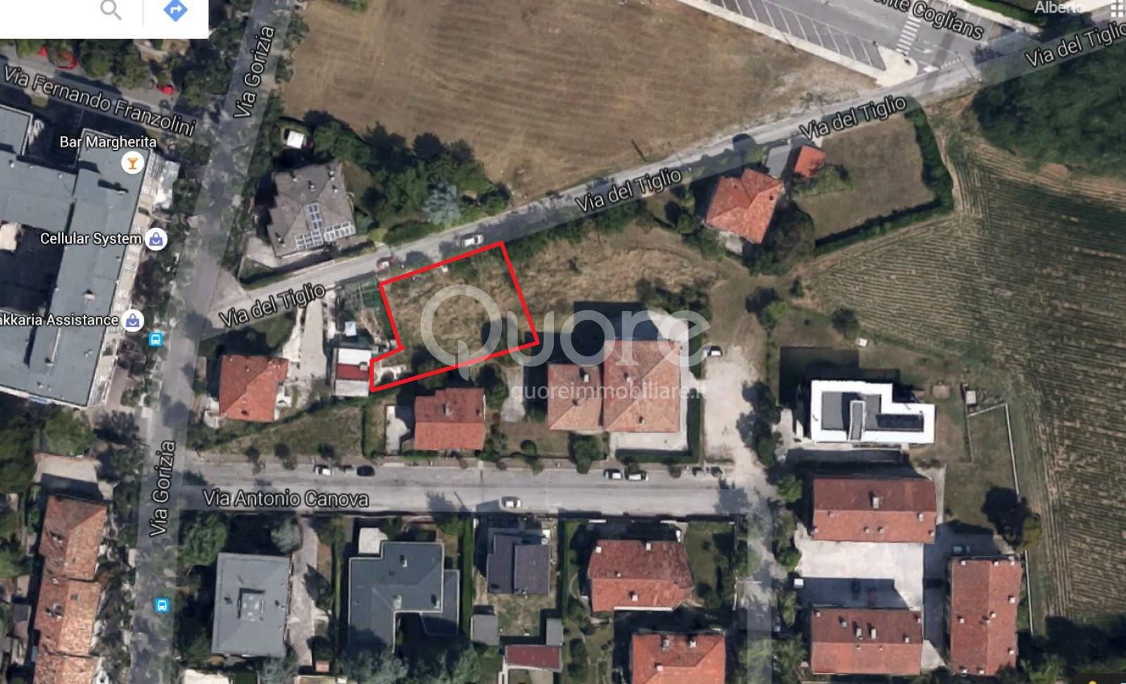 Terreno Edificabile Residenziale in vendita a Udine, 9999 locali, prezzo € 130.000 | CambioCasa.it