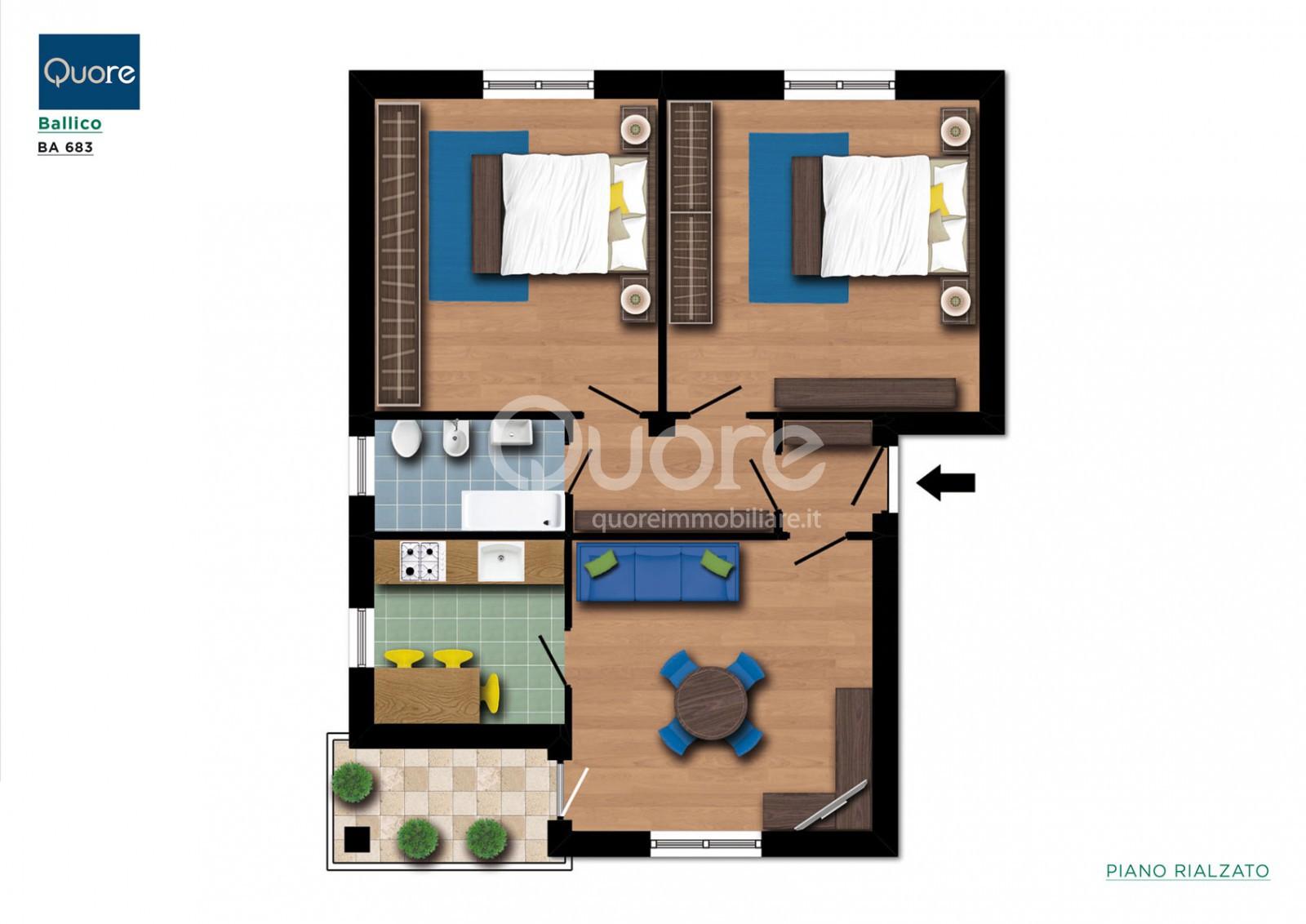 Appartamento in vendita a Corno di Rosazzo, 4 locali, prezzo € 37.000 | CambioCasa.it