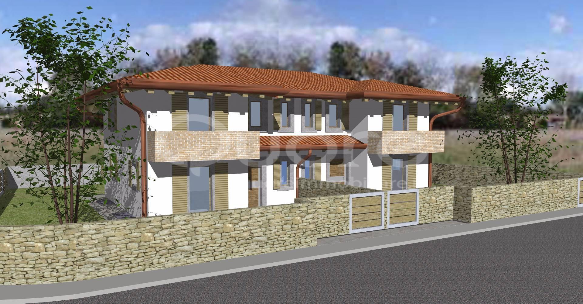 Villa a Schiera in vendita a San Daniele del Friuli, 6 locali, zona Zona: Villanova, prezzo € 240.000   CambioCasa.it