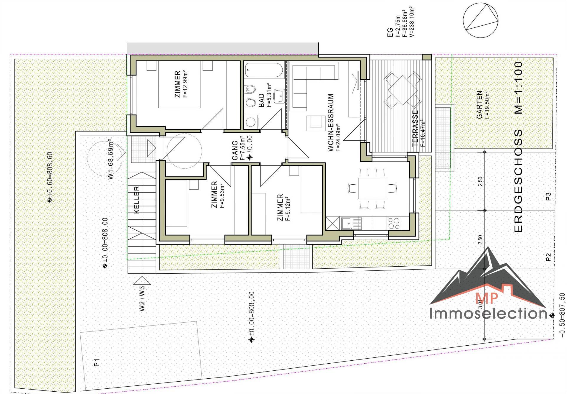 Appartamento in vendita a Chienes, 4 locali, zona Zona: Casteldarne, prezzo € 255.000 | CambioCasa.it