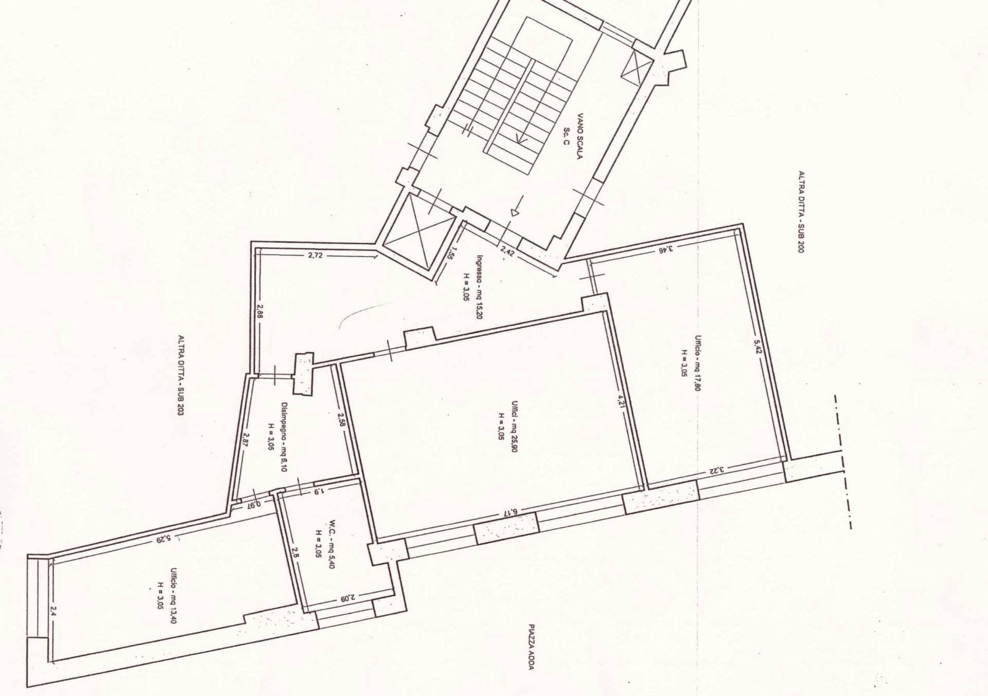 Ufficio / Studio in affitto a Siracusa, 9999 locali, zona Località: PiazzaAdda, prezzo € 550 | CambioCasa.it