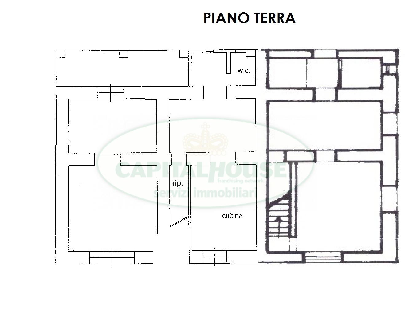 Soluzione Indipendente in vendita a Monteforte Irpino, 6 locali, zona Località: Campi, prezzo € 85.000 | Cambio Casa.it