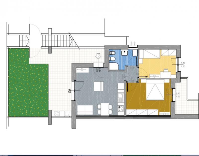 Appartamento in vendita a Capalbio, 4 locali, zona Località: BorgoCarige, prezzo € 240.000   Cambio Casa.it