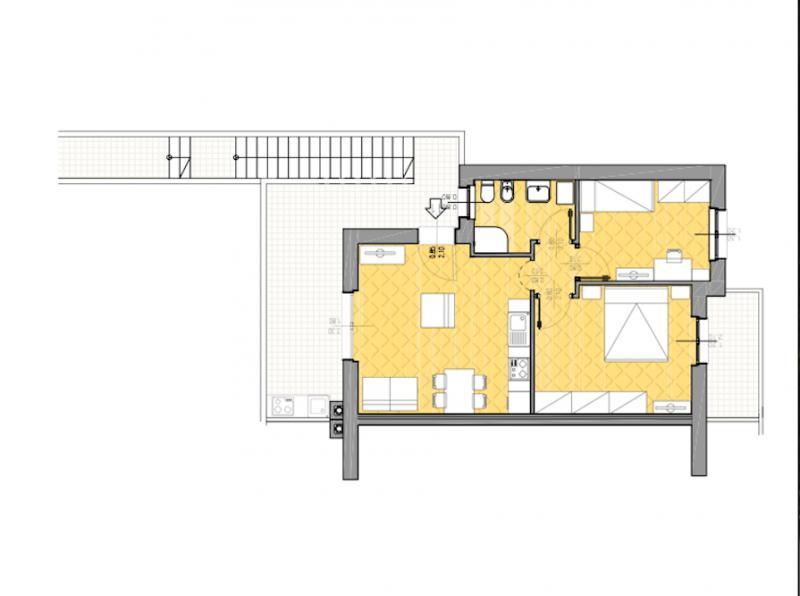 Appartamento in vendita a Capalbio, 4 locali, zona Località: BorgoCarige, prezzo € 220.000 | Cambio Casa.it