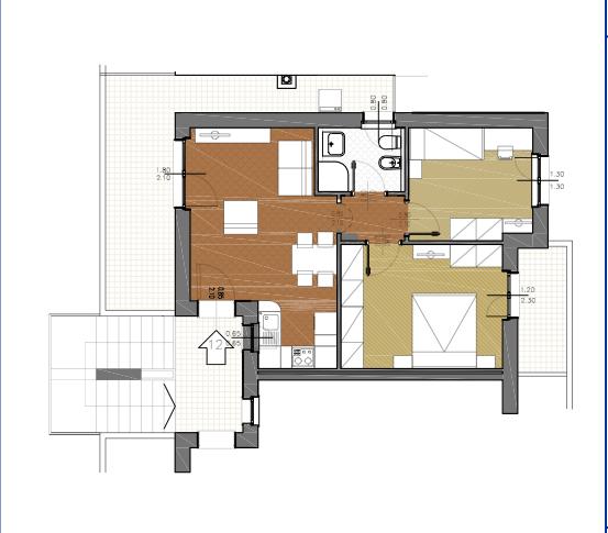 Appartamento in vendita a Capalbio, 4 locali, zona Località: BorgoCarige, prezzo € 225.000   Cambio Casa.it