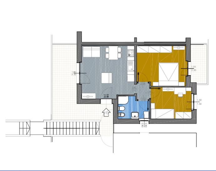 Appartamento in vendita a Capalbio, 4 locali, zona Località: BorgoCarige, prezzo € 225.000 | Cambio Casa.it