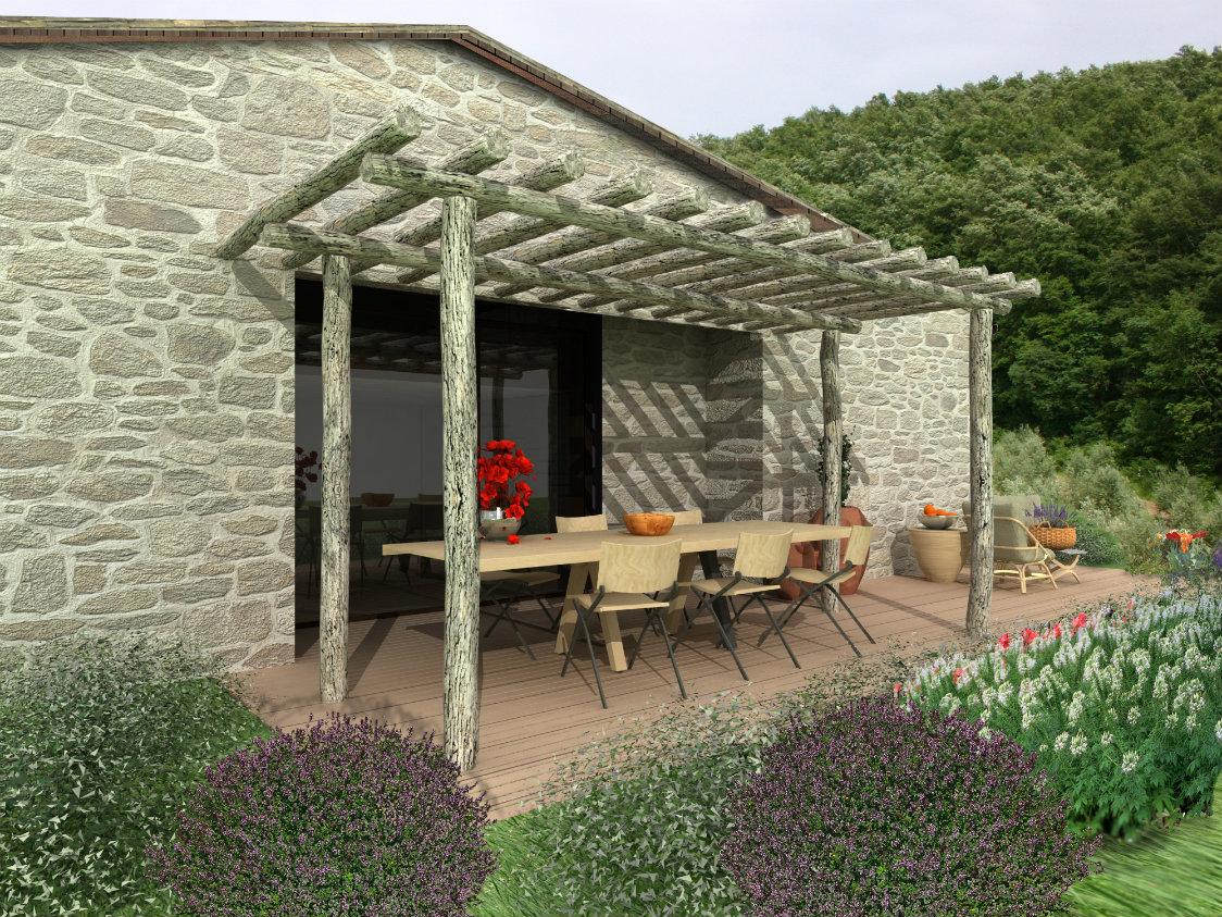 Villa in vendita a Todi, 8 locali, zona Zona: Ponterio, prezzo € 480.000 | Cambio Casa.it