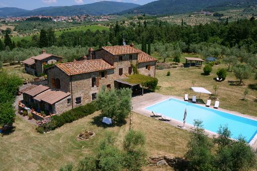 Rustico / Casale in vendita a Reggello, 25 locali, zona Zona: Donnini, prezzo € 1.750.000 | Cambio Casa.it