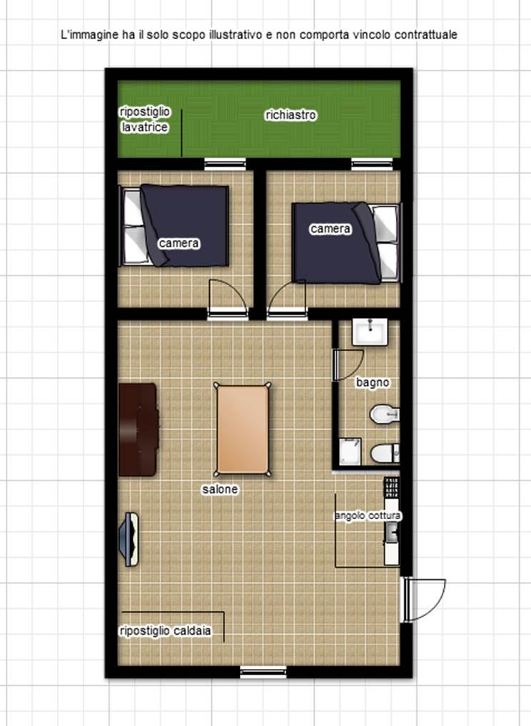 Appartamento in vendita a Viterbo, 3 locali, zona Zona: Centro, prezzo € 70.000 | Cambio Casa.it