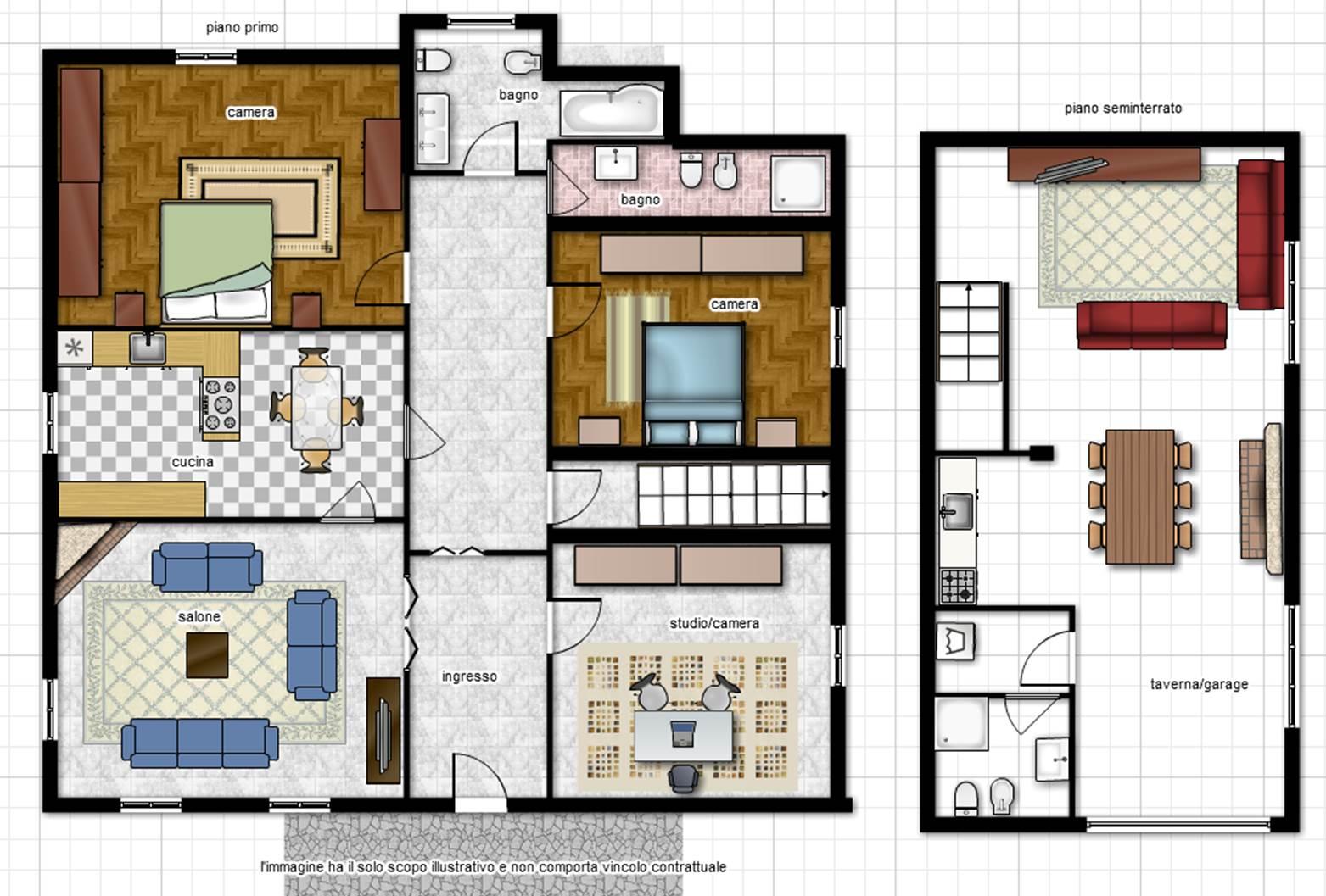 Villa in vendita a Viterbo, 5 locali, zona Zona: Periferia, prezzo € 170.000 | Cambio Casa.it