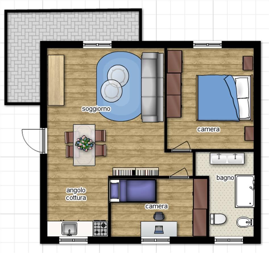 Appartamento in vendita a Viterbo, 3 locali, zona Località: SanMartinoalCimino, prezzo € 160.000   CambioCasa.it