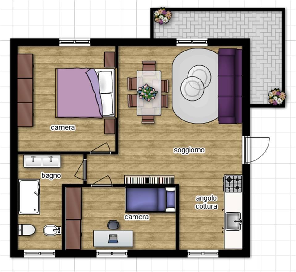 Appartamento in vendita a Viterbo, 3 locali, zona Località: SanMartinoalCimino, prezzo € 150.000   CambioCasa.it