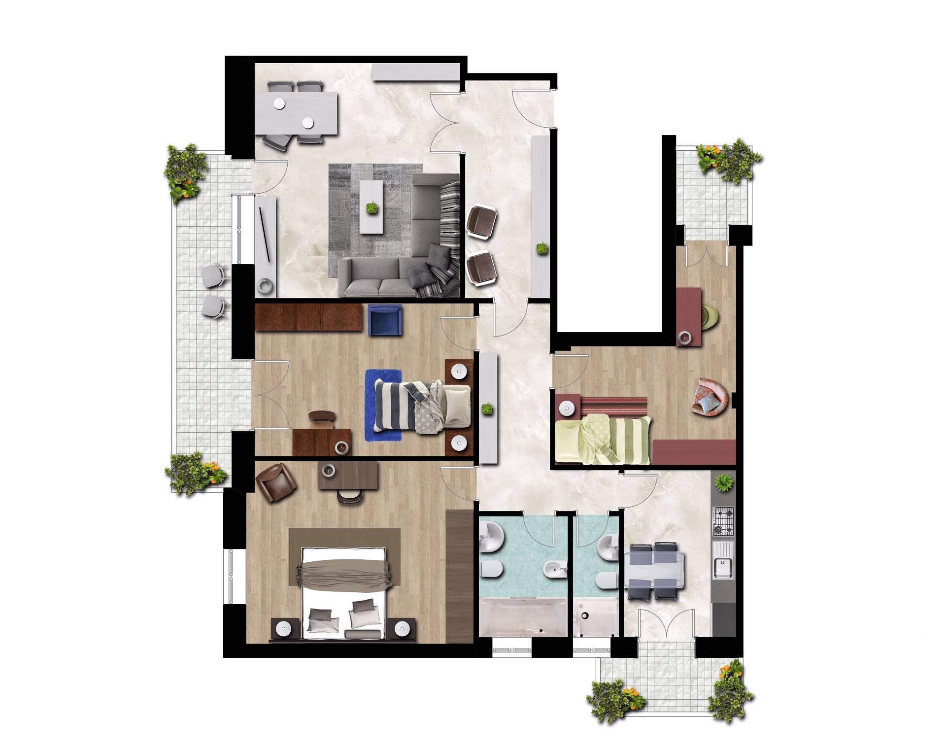 Appartamento in vendita a Terracina, 4 locali, zona Località: centro, prezzo € 215.000 | CambioCasa.it