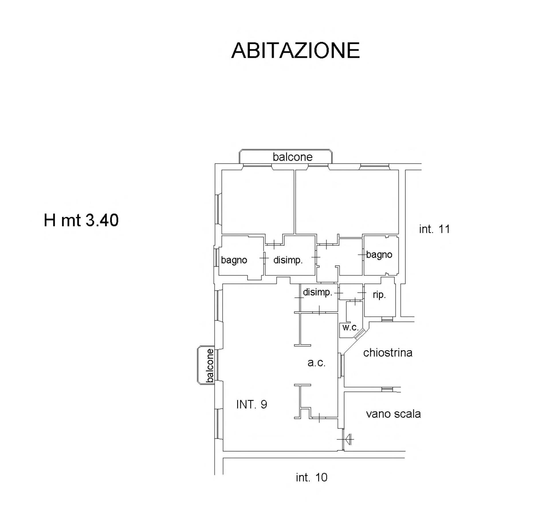 Appartamento in Vendita a Roma: 3 locali, 180 mq - Foto 21