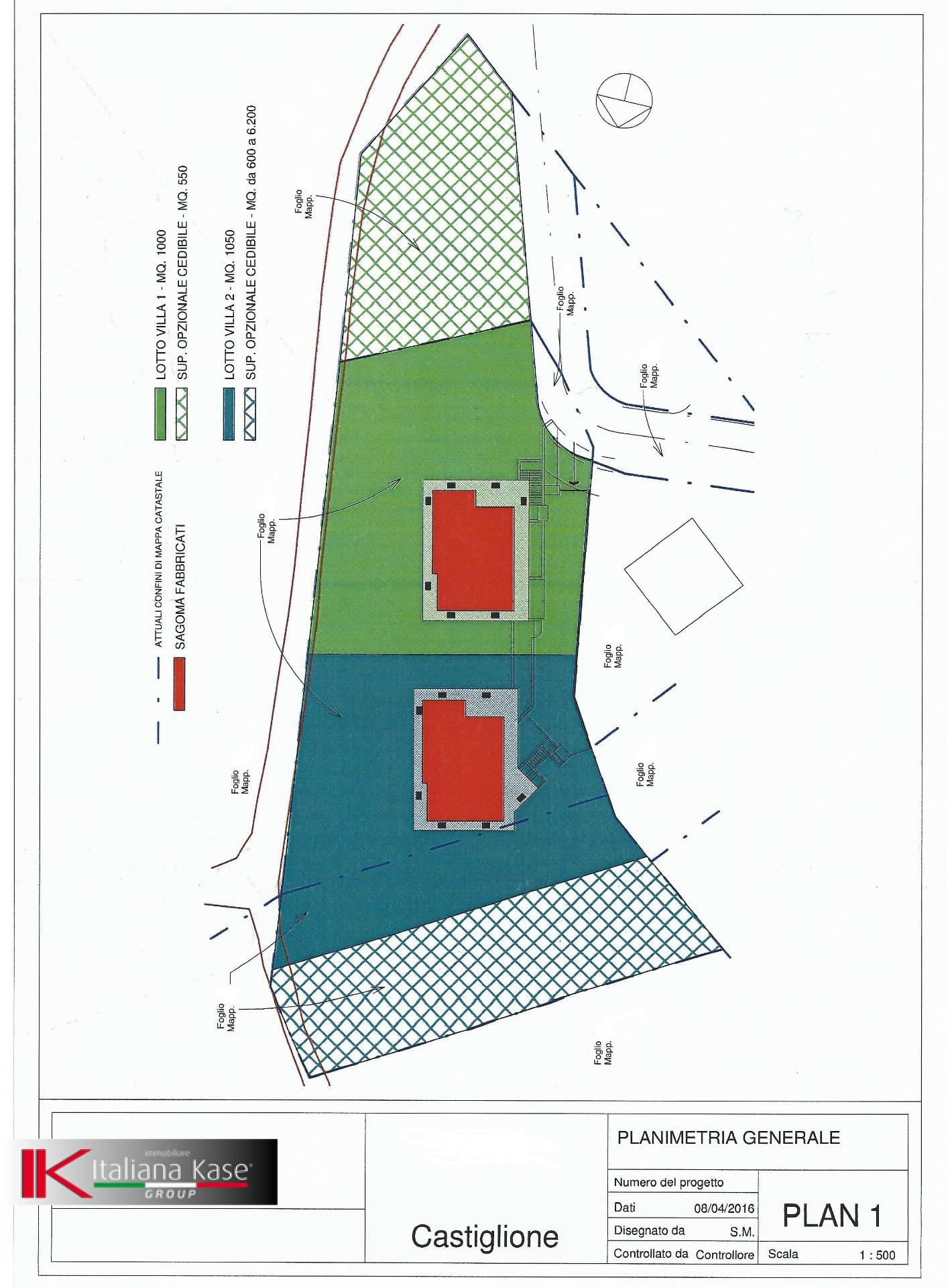 Terreno Edificabile Residenziale in vendita a Castiglione Torinese, 9999 locali, zona Località: Centro, prezzo € 115.000   CambioCasa.it