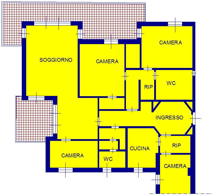 Appartamento in vendita a Arenzano, 9 locali, zona Località: Portichetto, prezzo € 460.000 | Cambio Casa.it
