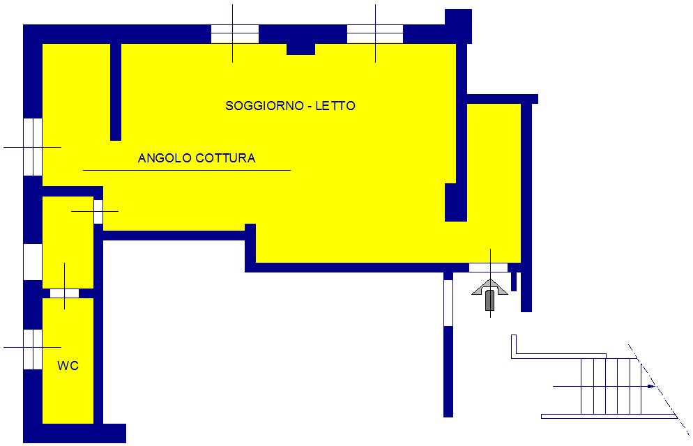 Appartamento in vendita a Arenzano, 1 locali, zona Località: PinetadiArenzano, prezzo € 95.000 | CambioCasa.it