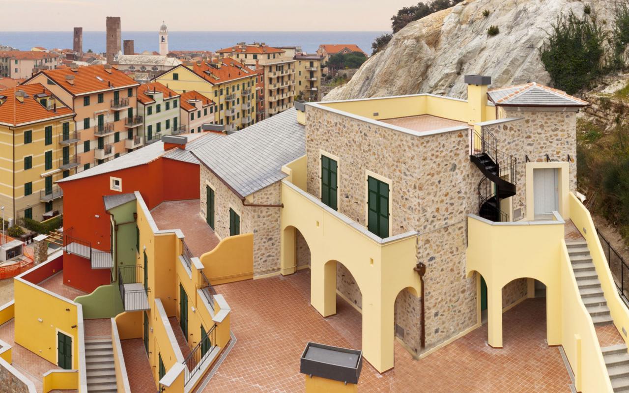 Bilocale Noli Via Monsignor Poggio 2