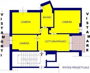 Appartamento in vendita a Arenzano, 3 locali, zona Località: Olivette, prezzo € 270.000 | Cambio Casa.it