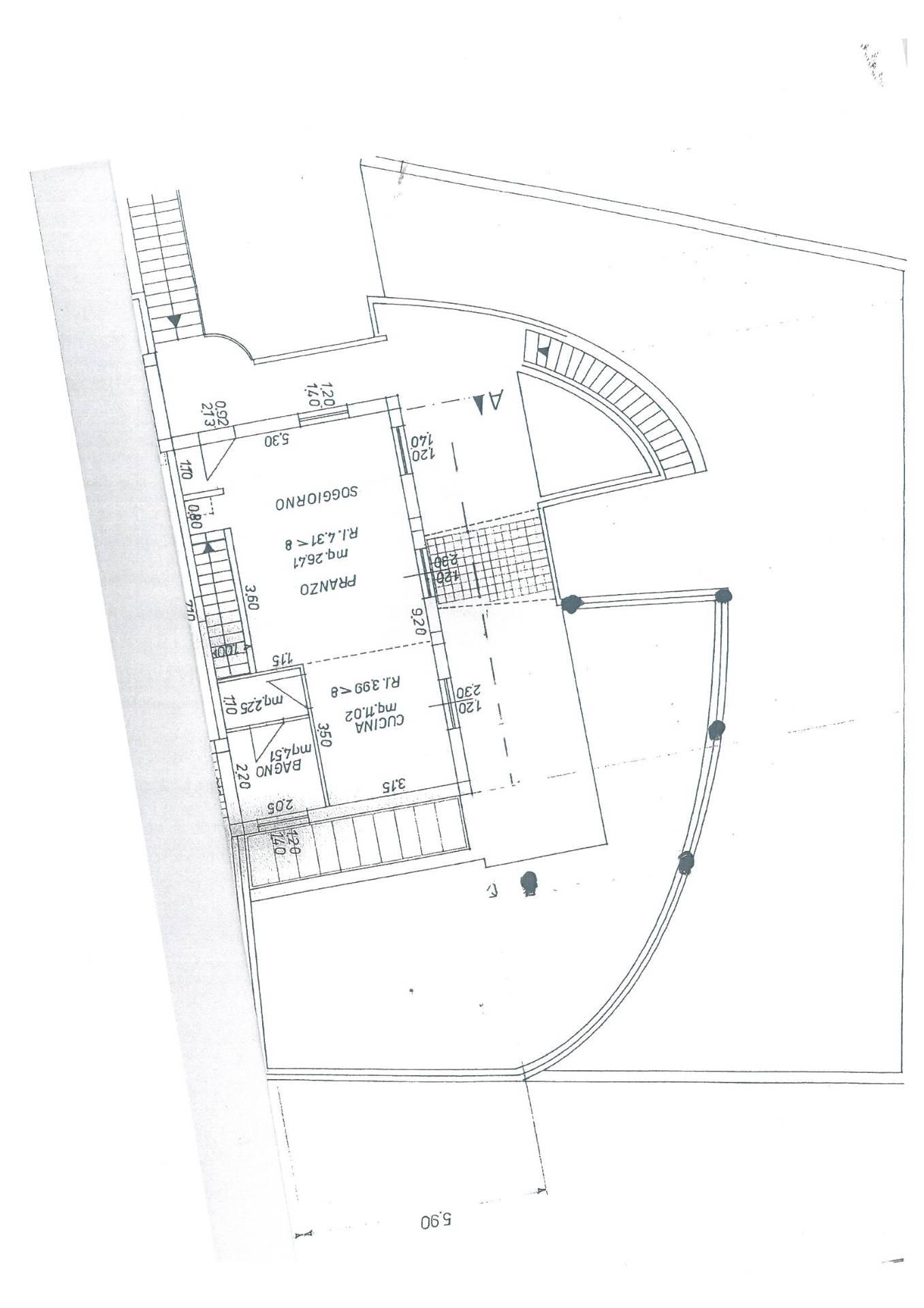 Villa in vendita a Polverigi, 6 locali, zona Località: Semicentro, prezzo € 300.000 | Cambio Casa.it