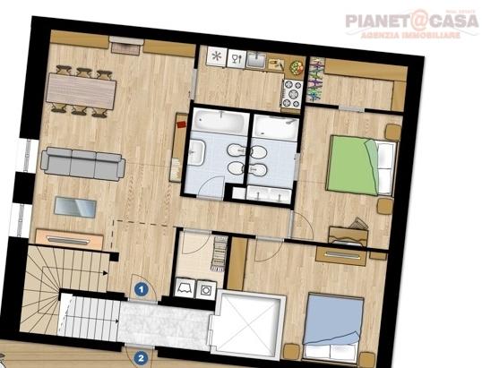 Appartamento in affitto a Ascoli Piceno, 5 locali, zona Località: CENTRO, prezzo € 1.000 | CambioCasa.it