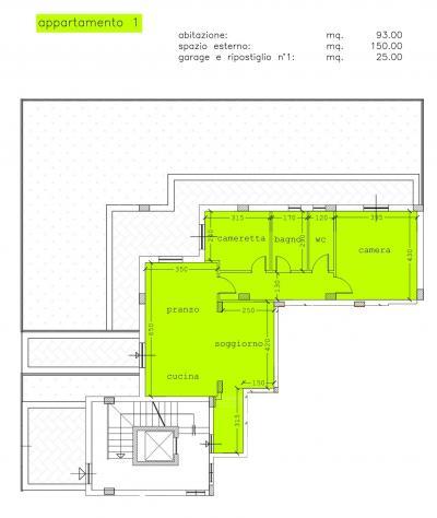 Appartamento Piano Terra in Vendita a Spinetoli