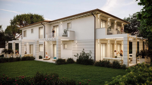 Villa Bifamiliare in Vendita<br>a Forte dei Marmi