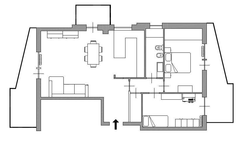 Appartamento in vendita a Savona, 4 locali, zona Zona: Valloria, prezzo € 300.000   CambioCasa.it