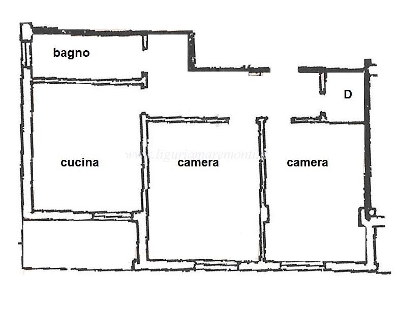 Appartamento in affitto a Savona, 3 locali, zona Zona: Lavagnola, prezzo € 450 | CambioCasa.it