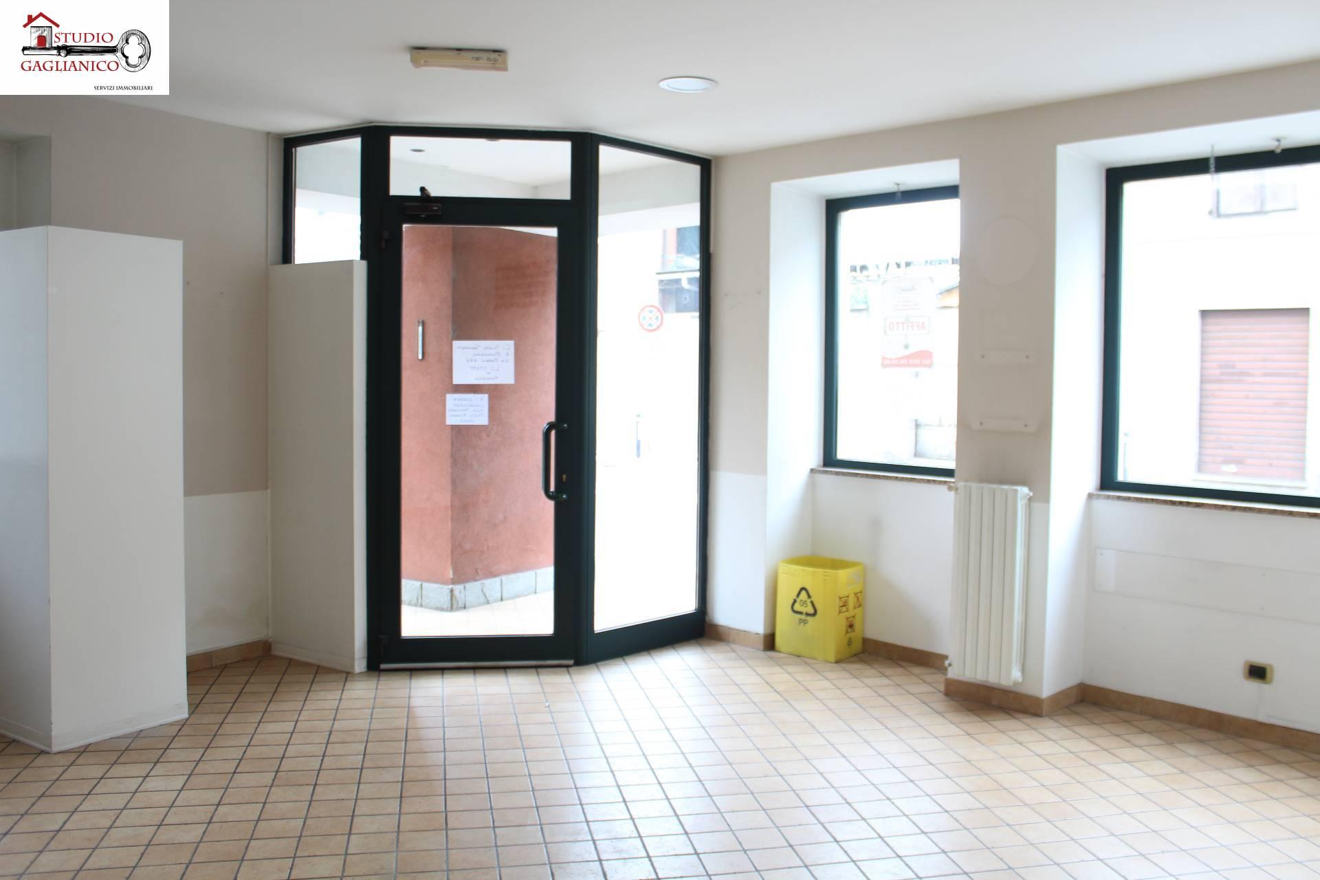 Fondo commerciale in affitto a Gaglianico (BI)