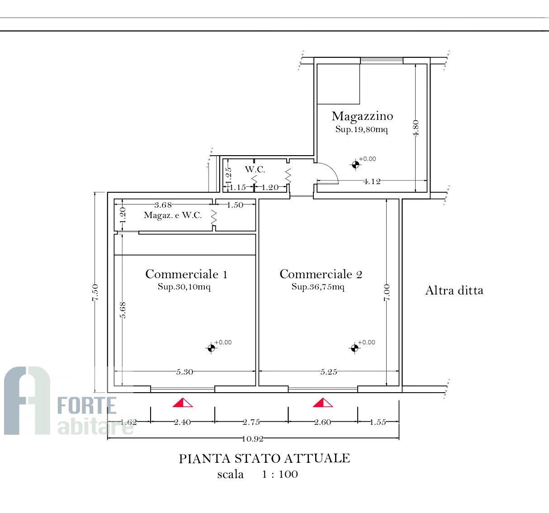 Negozio / Locale in affitto a Forte dei Marmi, 9999 locali, zona Zona: Centro, prezzo € 1.600 | CambioCasa.it