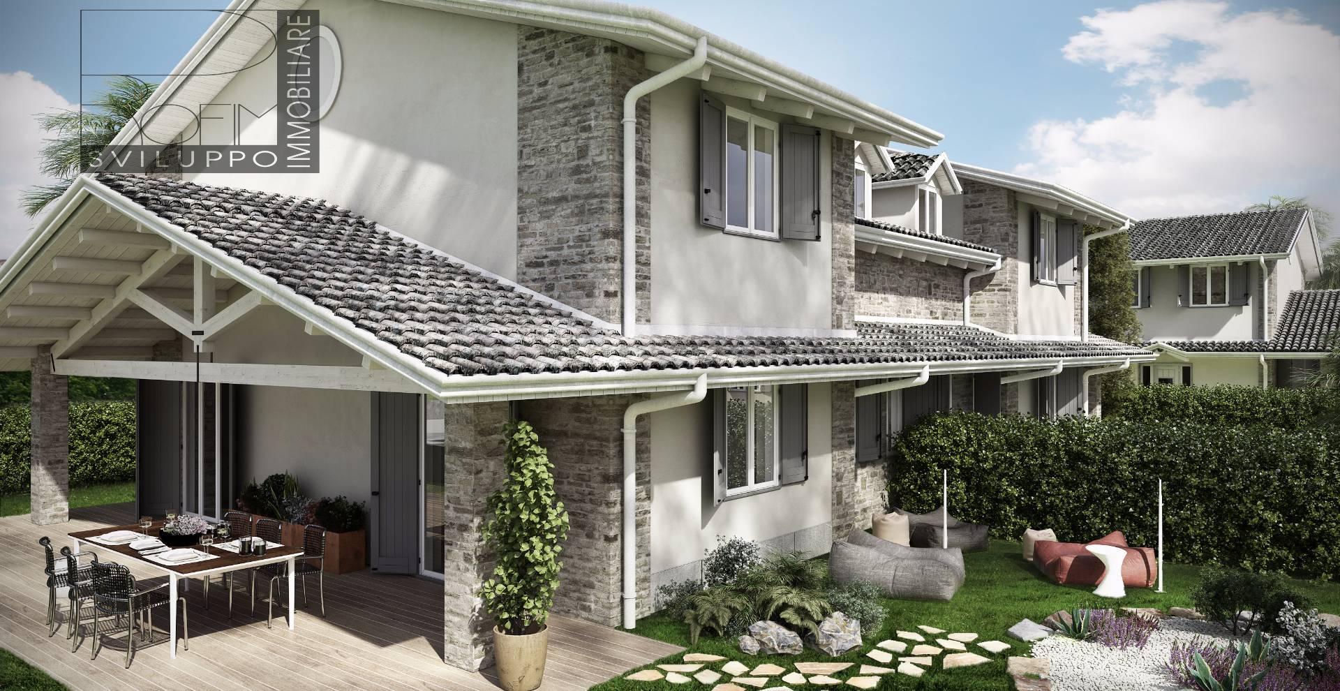 Villa bifamiliare spino d 39 adda vendita 192 mq for Mercatone dell arredamento spino d adda