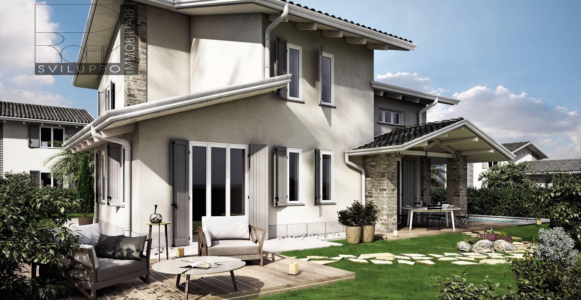 Villa in vendita a spino d 39 adda cod cc 2 villa five for Mercatone dell arredamento spino d adda