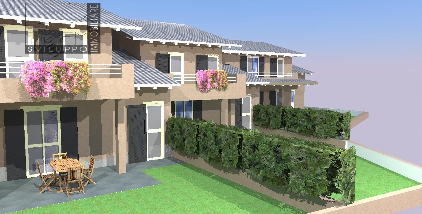 Villa a Schiera in Vendita a Spino d'Adda